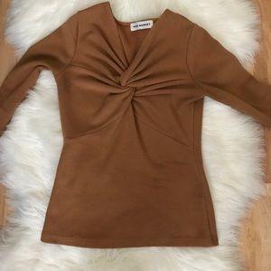 Pixie Market Twist Front Sweater